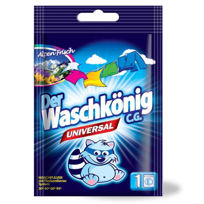 Waschpulver Der Waschkönig C.G. Universal 83 kg