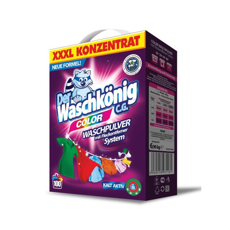 Waschpulver Der Waschkönig C.G. Color 6,9 kg