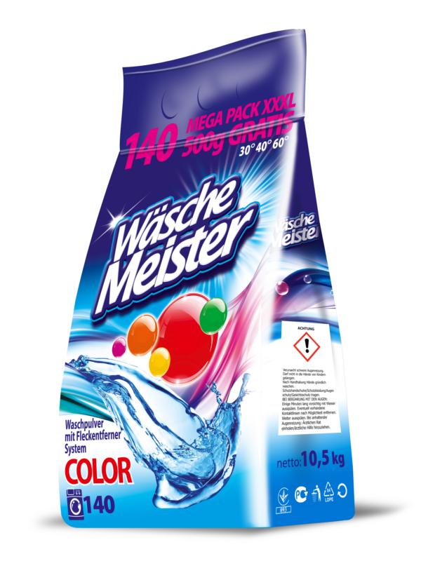 Waschpulver WäscheMeister Color 10,5 kg