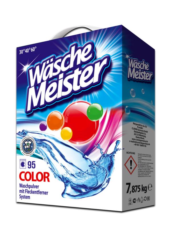 Waschpulver WäscheMeister Color 7,875 kg