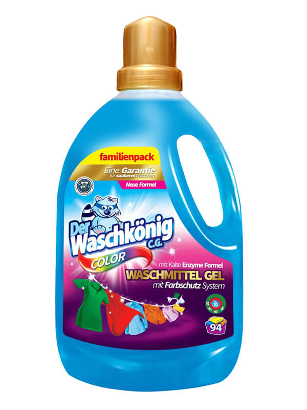 Waschgel Der Waschkönig C.G. Color 3,305 l