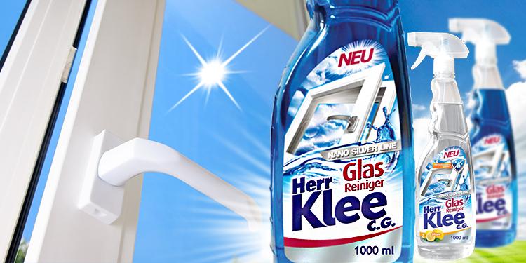 Fensterreiniger Herr Klee C.G. Nano Silver Line