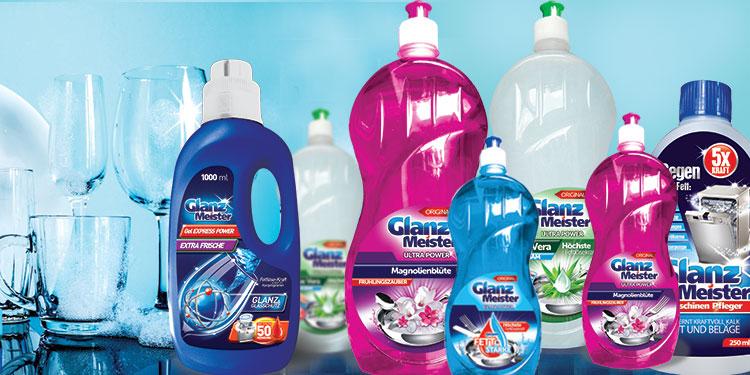 GlanzMeister- eine innovative Wasch- und Putzproduktlinie.