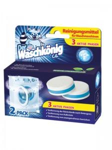 Reinigertabs für die Waschmaschine Der Waschkönig C.G. 2 Stück